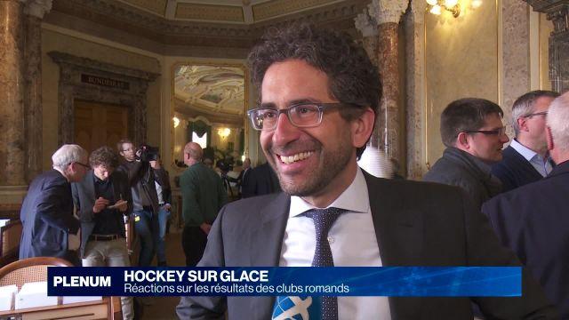Playoffs de hockey sur glace: la réaction des parlementaires