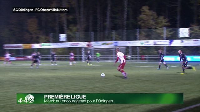 Match nul encourageant pour Düdingen