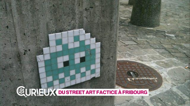 Du Street Art factice à Fribourg