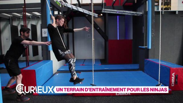 Un terrain d'entraînement pour les ninjas