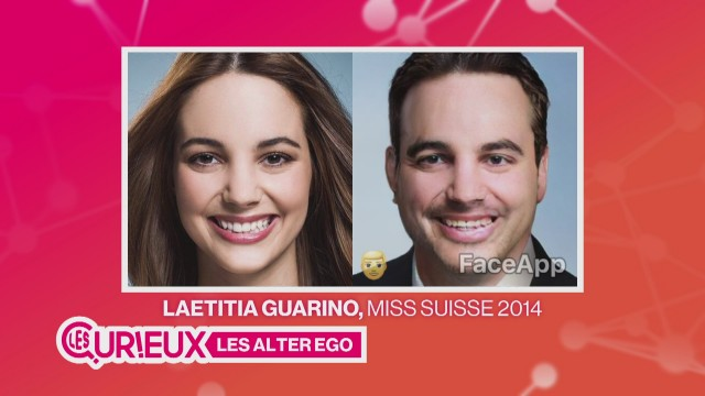 Laetitia Guarino transformée en homme