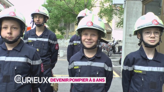 Devenir pompier à 8 ans