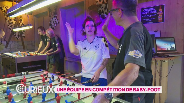 Des fribourgeois champions de baby-foot