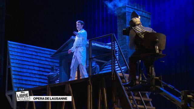 Dans les coulisses de l'Opéra de Lausanne