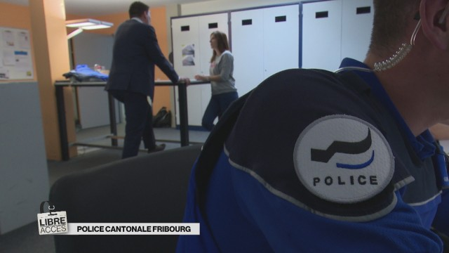 Police cantonale Fribourg