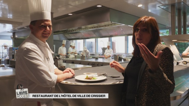 Libre accès au Restaurant de l'Hôtel de Ville de Crissier