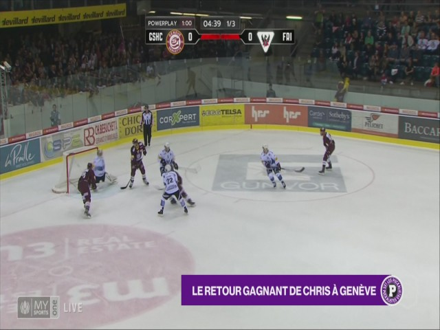 Genève s'impose contre Fribourg