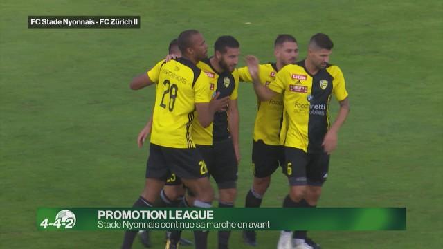 Stade-Nyonnais poursuit son sans faute en Promotion League