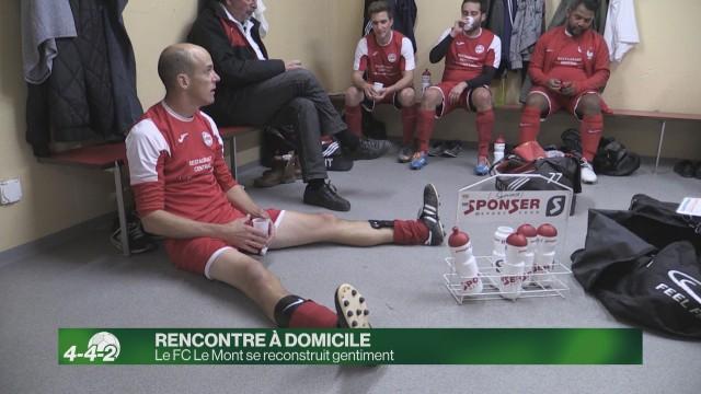 Le FC Le Mont : un club en reconstruction
