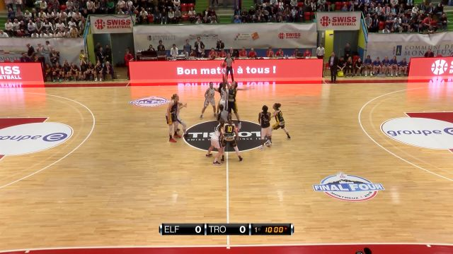 Swiss basketball League Cup Fribourg-Troistorrents Part 1