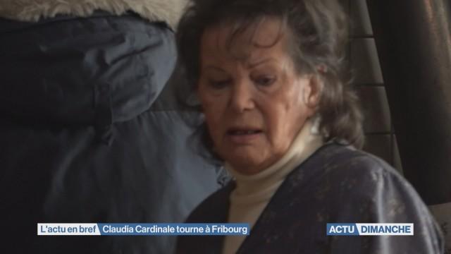 Claudia Cardinale tourne à Fribourg