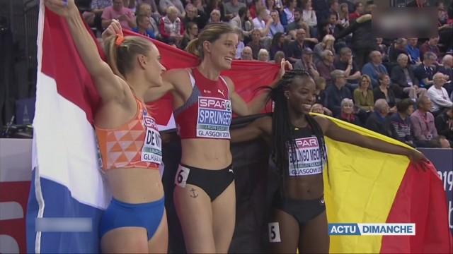 Léa Sprunger championne d'Europe