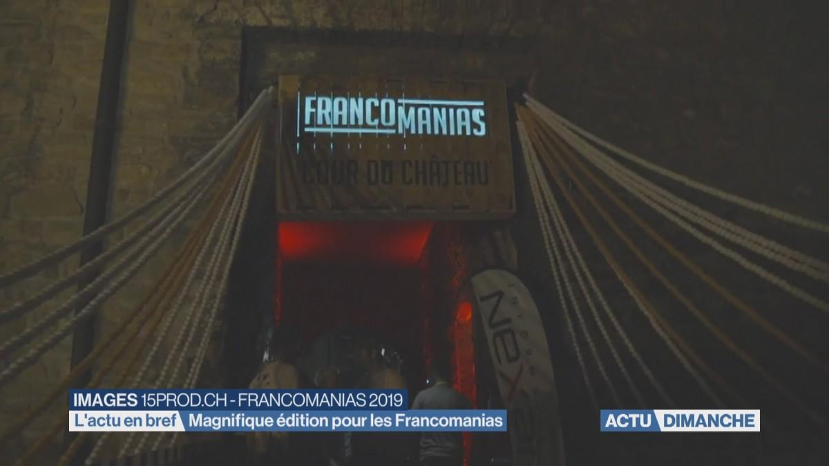 Joli succès pour les Francomanias
