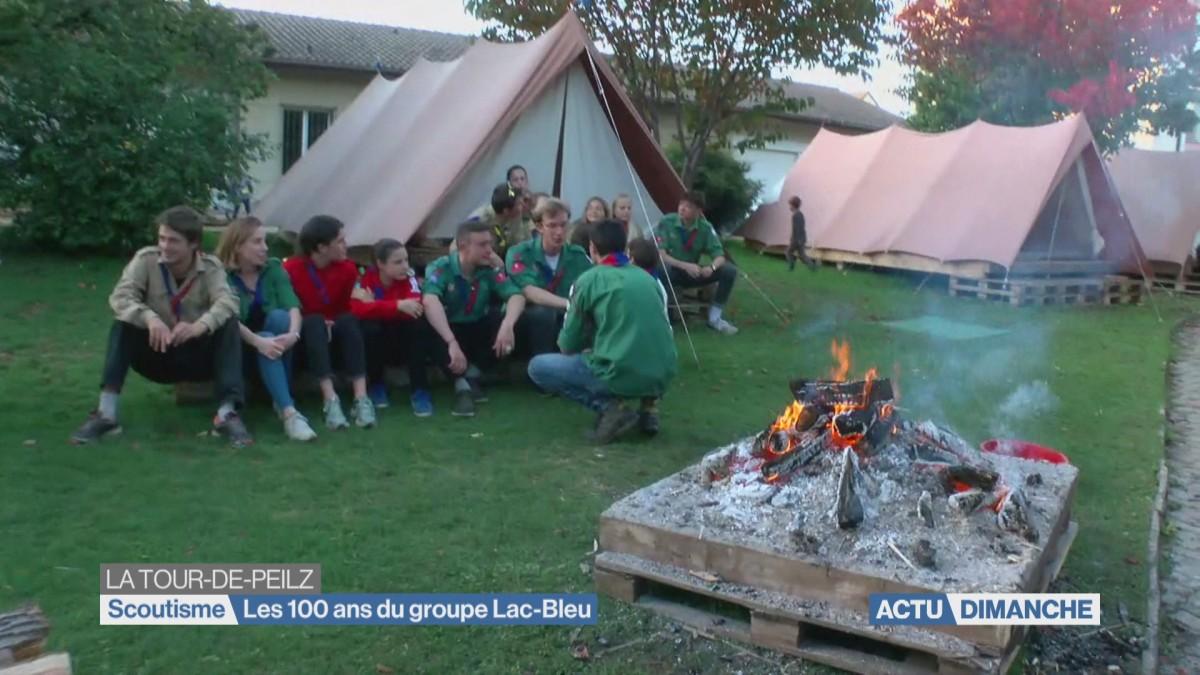 Les 100 ans des scouts de La Tour-de-Peilz