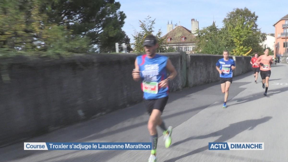 Troxler s'adjuge le Lausanne Marathon