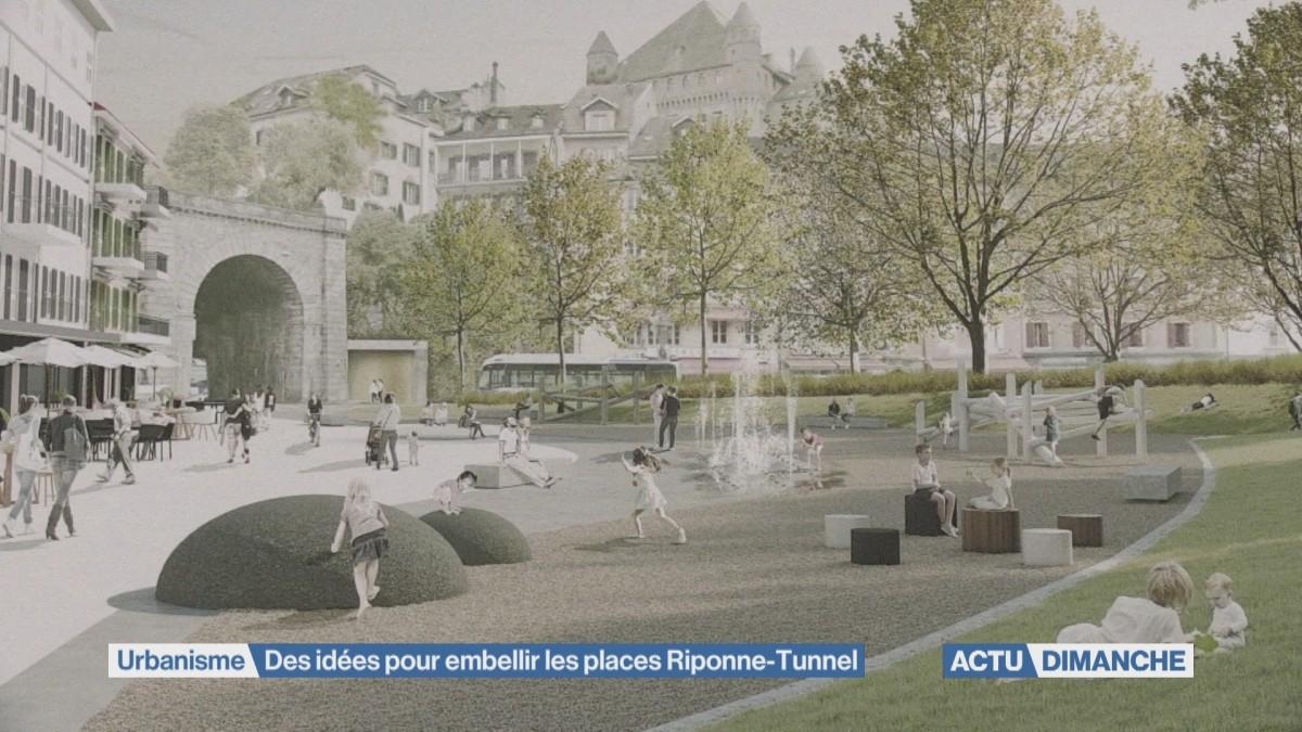 Des idées pour embellir les places Riponne-Tunnel