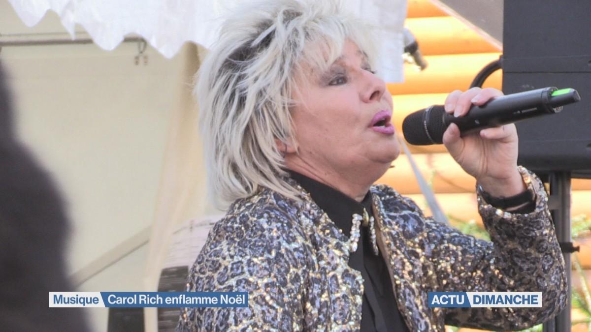 Carol Rich enflamme Noël