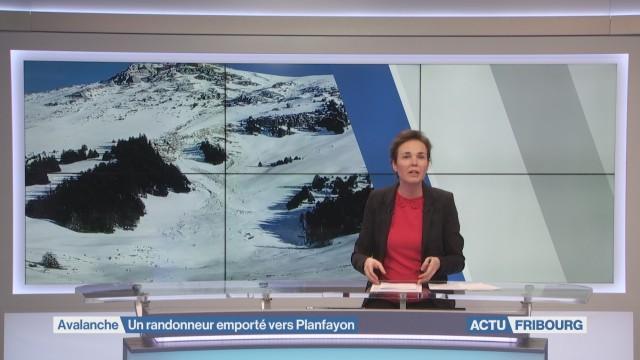 Une avalanche emporte un randonneur à ski
