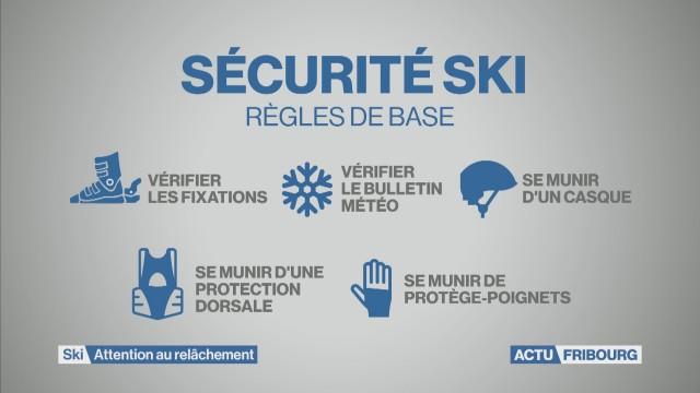 Ski : attention au relâchement