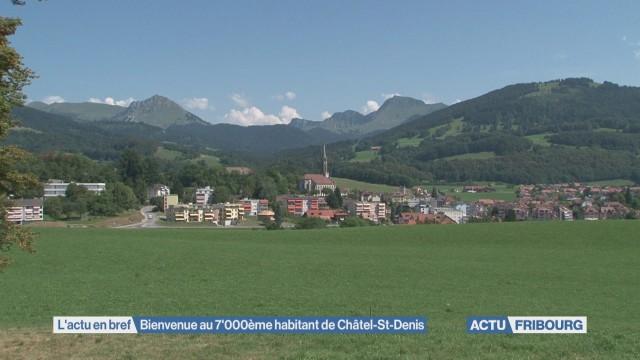 Bienvenue au 7'000ème habitant de Châtel-St-Denis