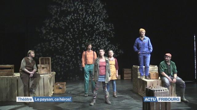 Théâtre hommage à l'agriculture