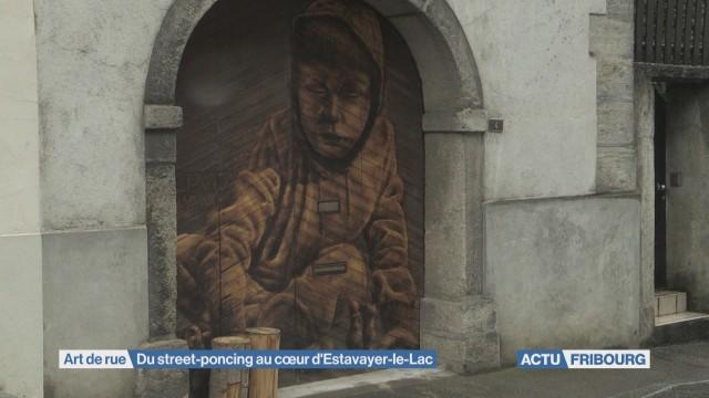 Du street-poncing au cœur d'Estavayer-le-Lac