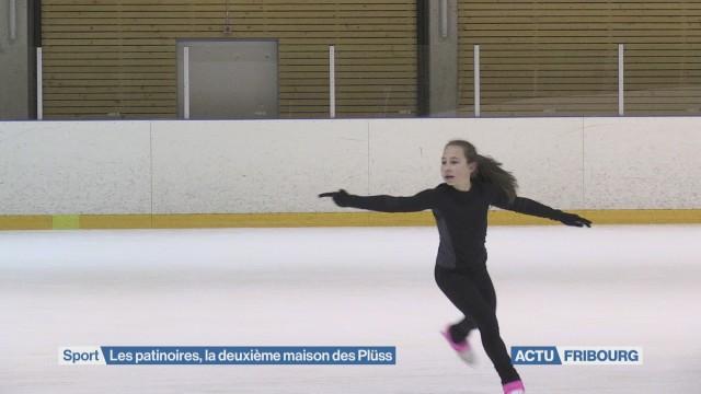 Les patinoires, deuxième maison des Plüss