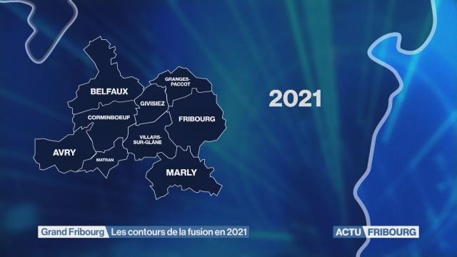 Les contours de la fusion du Grand Fribourg