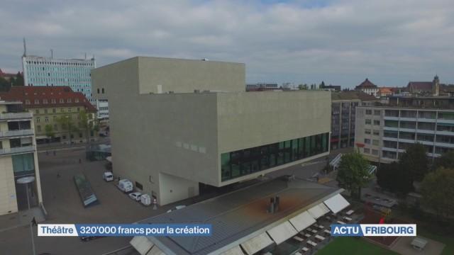 320'000 francs pour la création théâtrale