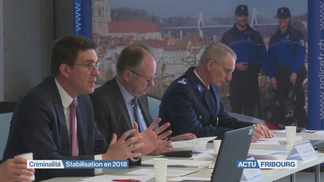 Bilan 2018 de la police fribourgeoise
