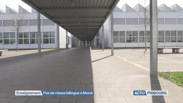 Pas de classe bilingue à Morat