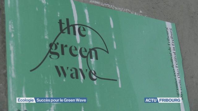 Succès pour le Green Wave