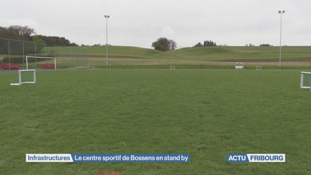 Le centre sportif de Bossens à nouveau en question