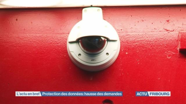 Protection des données: hausse des demandes