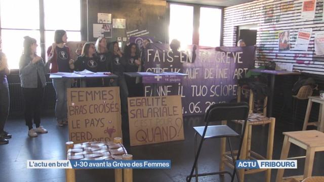 J-30 avant la Grève des Femmes