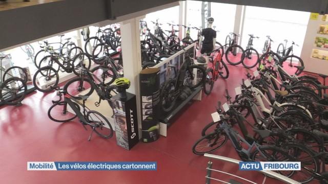 Le vélo électrique cartonne
