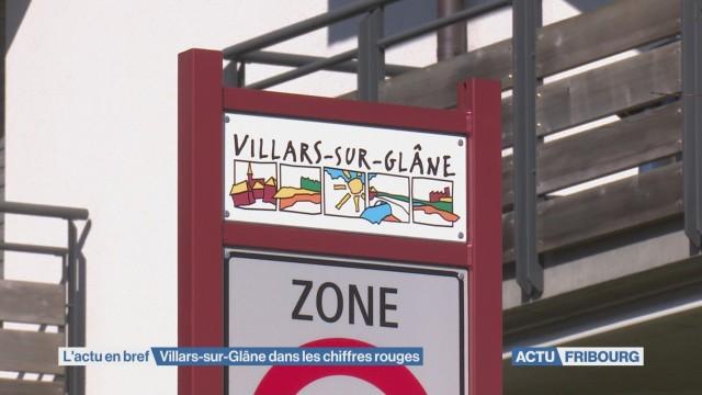 Villars-sur-Glâne dans les chiffres rouges