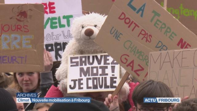 Nouvelle mobilisation à Fribourg