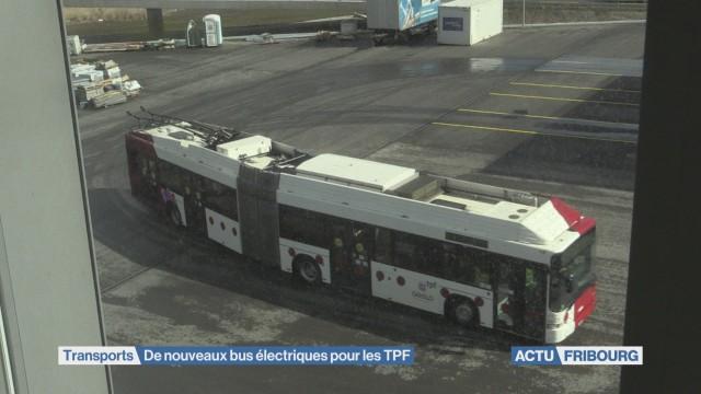 Les TPF misent sur les trolleybus à batterie