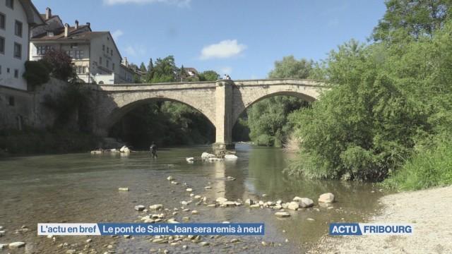 Le pont de Saint-Jean sera remis à neuf