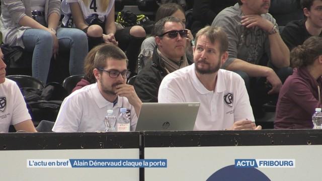 Alain Dénervaud et Fribourg Olympic, c'est fini