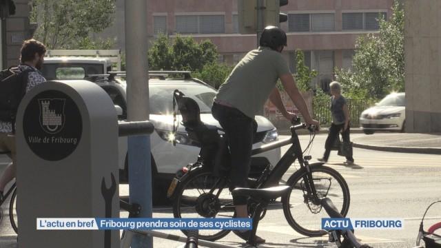 Fribourg prendra soin de ses cyclistes