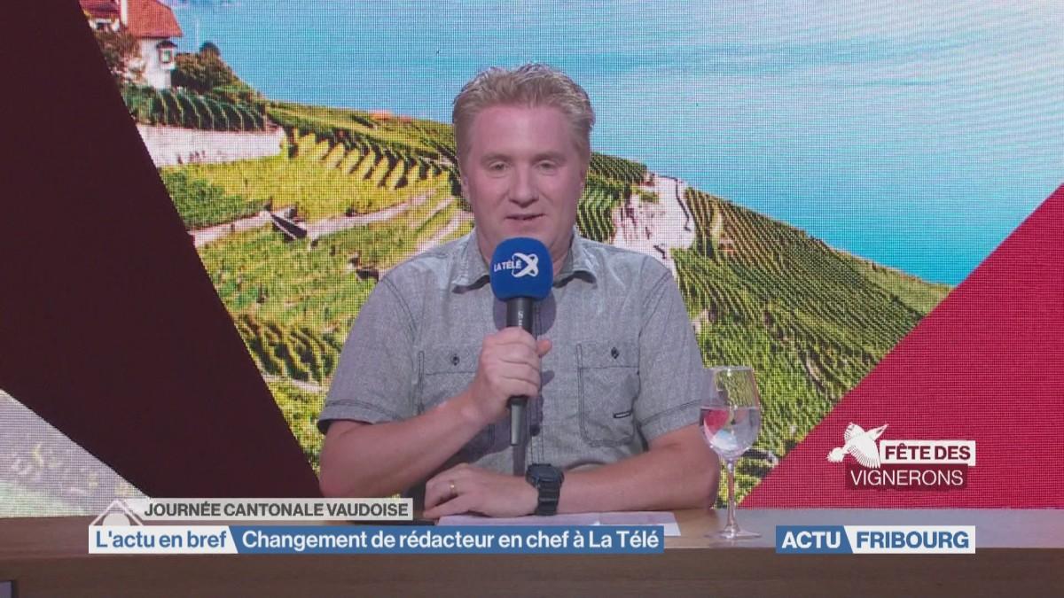 Changement de rédacteur en chef à La Télé