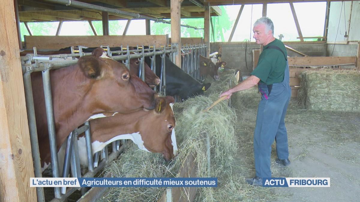 Agriculteurs en difficulté mieux soutenus