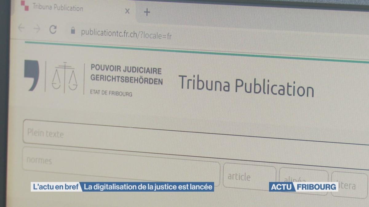 La digitalisation de la justice est lancée