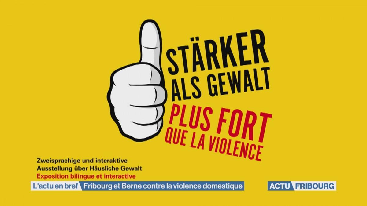 Fribourg et Berne contre la violence domestique