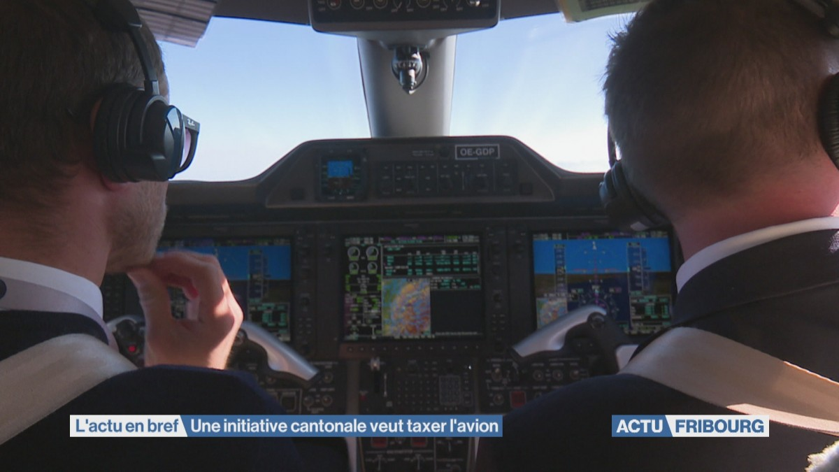 Une initiative cantonale veut taxer l'avion