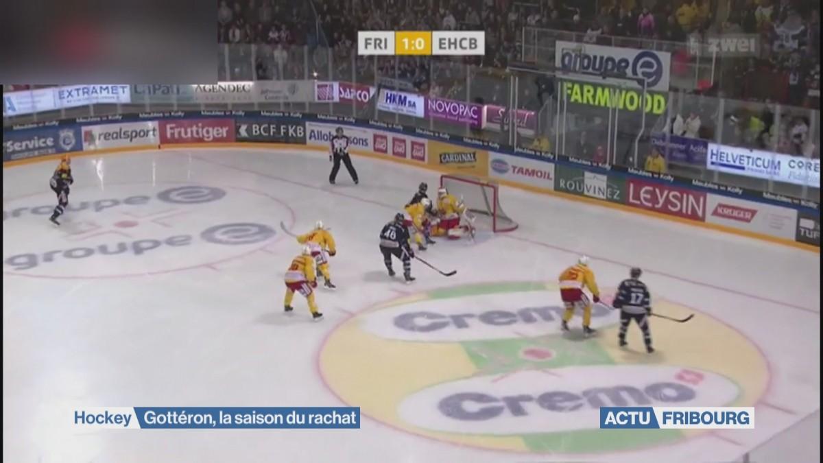 Fribourg-Gottéron vise les play-offs