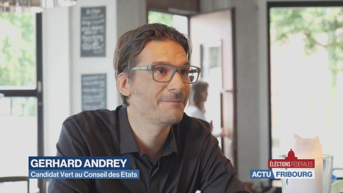 Gerhard Andrey se présente