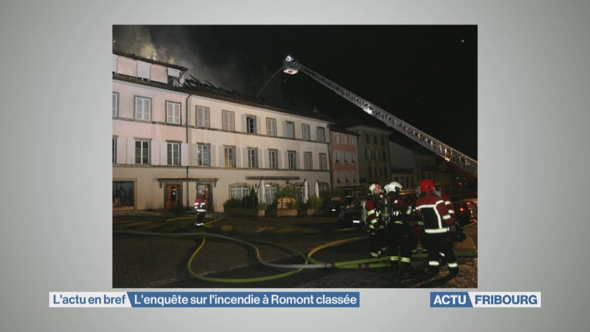 L'incendie de Romont classé